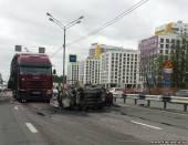 Старая Купавна - Страшная авария на трассе М7 в подмосковной Балашихе