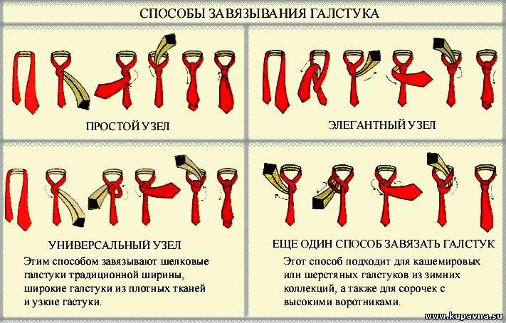 Вязать галстуки